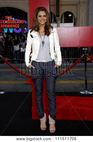 Maria Menounos at the Los Angeles premiere of 'The Hangover Part II' held at the Grauman's Chinese Theatre in Hollywood on May 19, 2011.
