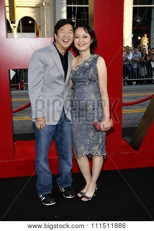 Ken Jeong at the Los Angeles premiere of 'The Hangover Part II' held at the Grauman's Chinese Theatre in Hollywood on May 19, 2011.