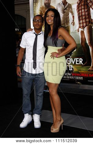 Romeo and Jordin Sparks at the Los Angeles premiere of 'The Hangover Part II' held at the Grauman's Chinese Theatre in Hollywood on May 19, 2011.
