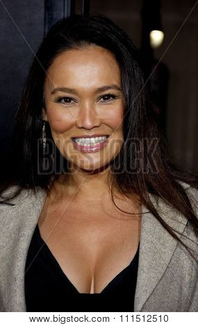 Tia Carrere at the Los Angeles premiere of 'The Fighter' held at the Grauman's Chinese Theatre in Hollywood on December 6, 2010.
