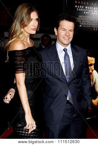 Rhea Durham and Mark Wahlberg at the Los Angeles premiere of 'The Fighter' held at the Grauman's Chinese Theatre in Hollywood on December 6, 2010.