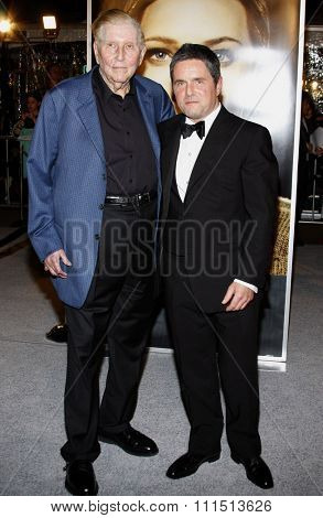 Brad Grey and Sumner Redstone at the Los Angeles premiere of 'The Curious Case Of Benjamin Button' held at the Mann's Village Theater  in Westwood on December 8, 2008.