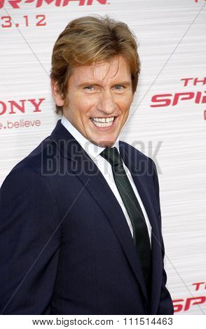 Denis Leary at the Los Angeles premiere of 'The Amazing Spider-Man' held at the Regency Village Theatre in Westwood on June 28, 2012.