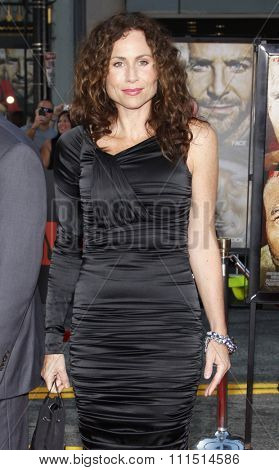 Minnie Driver at the Los Angeles premiere of 'The A-Team' held at the Grauman's Chinese Theater in Hollywood on June 3, 2010.