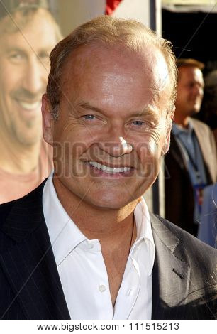 Kelsey Grammer at the Los Angeles premiere of 'Swing Vote' held at the El Capitan Theater in Hollywood on July 24, 2008.