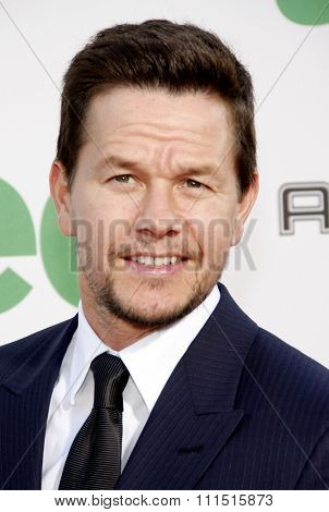 Mark Wahlberg at the Los Angeles premiere of 'Ted