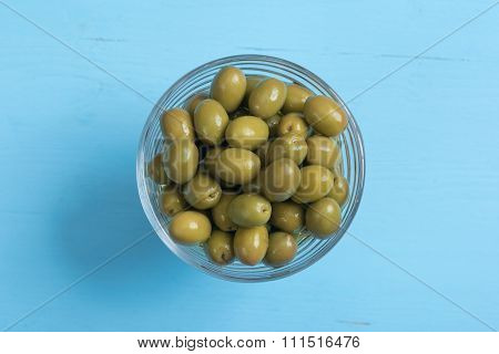 Canned Green Olives