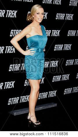 Kendra Wilkinson at the Los Angeles premiere of 'Star Trek' held at the Grauman's Chinese Theater in Hollywood on April 30, 2009.