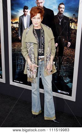Carolyn Hennessy at the Los Angeles premiere of
