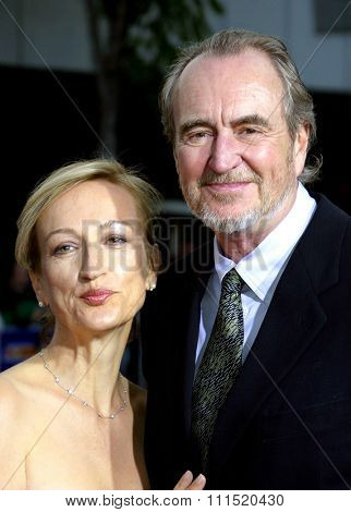 Wes Craven at the Los Angeles premiere of