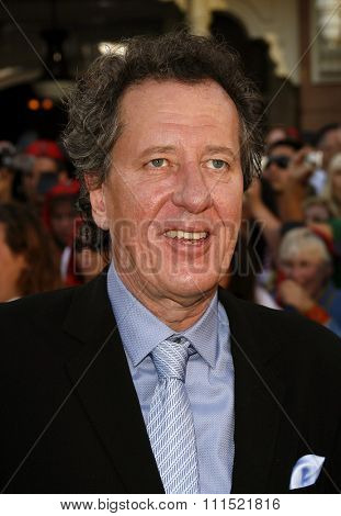 Geoffrey Rush attends the World Premiere of