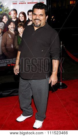 Luis Guzman at the Los Angeles premiere of 'Nothing Like The Holidays' held at the Grauman's Chinese Theater in Hollywood on December 3, 2008.