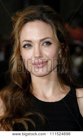 Angelina Jolie attends the Los Angeles Premiere of