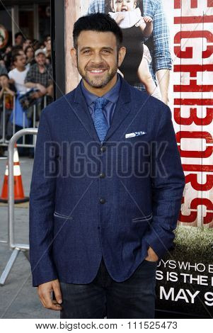 Adam Richman at the Los Angeles premiere of