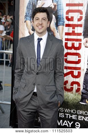 Christopher Mintz-Plasse at the Los Angeles premiere of