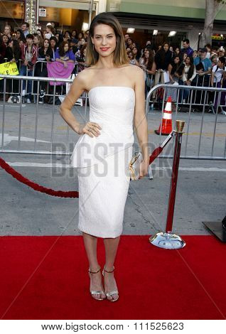 Lyndsy Fonseca at the Los Angeles premiere of