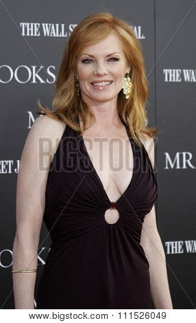 Marg Helgenberger attends Los Angeles Premiere of 'Mr. Brooks' held at the Grauman's Chinese Theater in Hollywood on May 22, 2007.