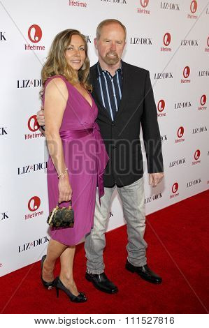 Theresa Russell at the Los Angeles premiere of 'Liz & Dick' held at the Beverly Hills Hotel in Beverly Hills on November 20, 2012.