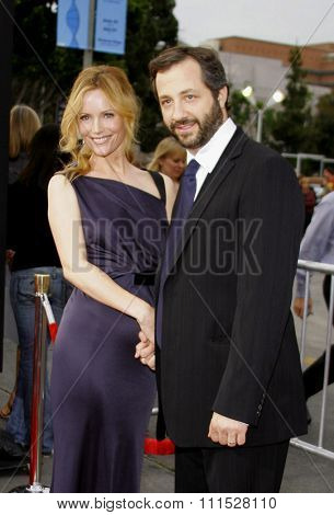 Leslie Mann and Judd Apatow attend Los Angeles Premiere of