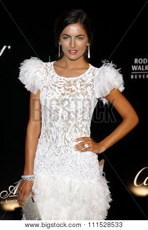 Camilla Belle at the Rodeo Drive Walk of Style Award honoring Princess Grace Kelly of Monaco and Cartier in Beverly Hills on October 22, 2009.