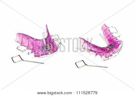Dental Removable Brace, Orthodontic . Invisible Braces