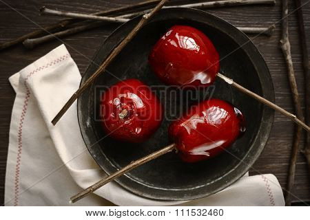 Candy Apple, Sweets, Food