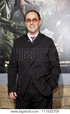 John Kassir at the Los Angeles premiere of