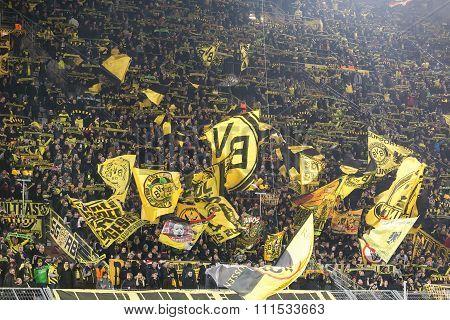 Uefa Europa League Match Between Borussia Dortmund Vs Paok