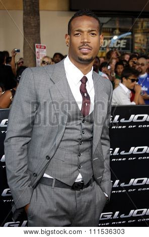 Damon Wayans at the Los Angeles special screening of 'G.I. Joe: The Rise Of The Cobra' held at the Grauman's Chinese Theatre in Hollywood on August 6, 2009.