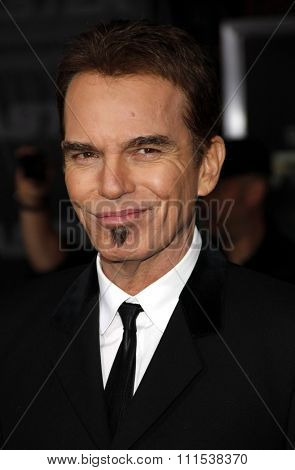 Billy Bob Thornton at the Los Angeles premiere of 'Faster