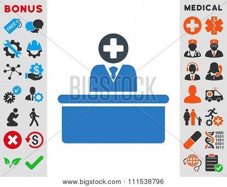 Medical Bureaucrat Icon