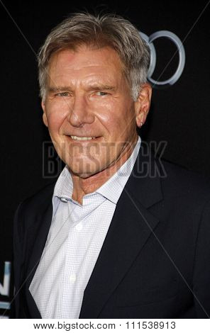 Harrison Ford at the Los Angeles premiere of
