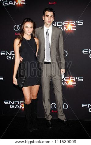 Nick Simmons at the Los Angeles premiere of