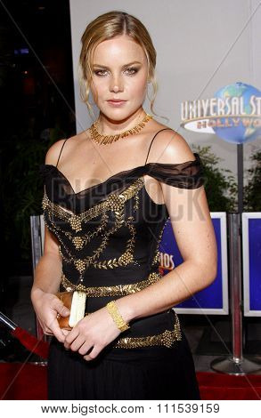 Abbie Cornish attends the Los Angeles Premiere of
