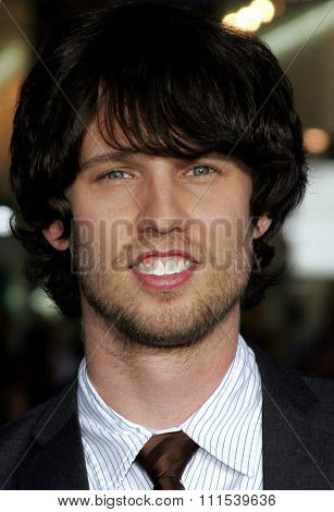 Jon Heder attends the Los Angeles Premiere of