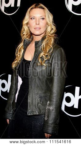 Deborah Kara Unger attends the World Premiere of 88 Minutes held at the Planet Hollywood Casino and Resort in Las Vegas, Nevada, United States on April 16, 2008.