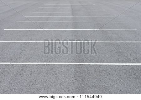 road markings car parking