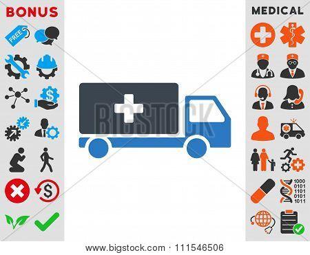 Medical Shipment Icon