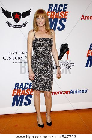 Marg Helgenberger at the 19th Annual Race To Erase MS held at the Hyatt Regency Century Plaza in Century City, USA on May 18, 2012.