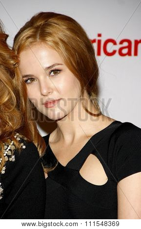 Zoey Deutch at the 19th Annual Race To Erase MS held at the Hyatt Regency Century Plaza in Century City, USA on May 18, 2012.