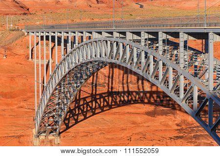 A bridge over Glen Canyon