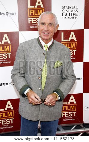 Frederic Prinz von Anhalt at the 2012 Los Angeles Film Festival premiere of 'To Rome With Love' held at the Regal Cinemas L.A. LIVE Stadium in Los Angeles, USA on June 14, 2012.