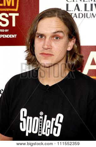 Jason Mewes at the 2012 Los Angeles Film Festival premiere of 'To Rome With Love' held at the Regal Cinemas L.A. LIVE Stadium in Los Angeles, USA on June 14, 2012.