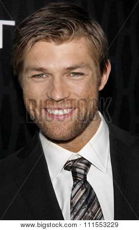 Liam McIntyre at the Los Angeles premiere of Starz Series 'Magic City' held at the DGA Theater in Hollywood, USA on March 20, 2012.
