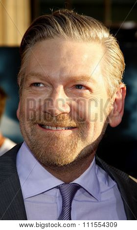 Kenneth Branagh at the Los Angeles premiere of 'Thor' held at the El Capitan Theater in Hollywood, USA on May 5, 2011.