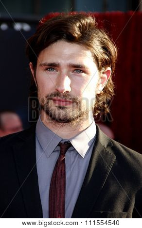 Matt Dallas at the Los Angeles premiere of 'Thor' held at the El Capitan Theater in Hollywood, USA on May 5, 2011.