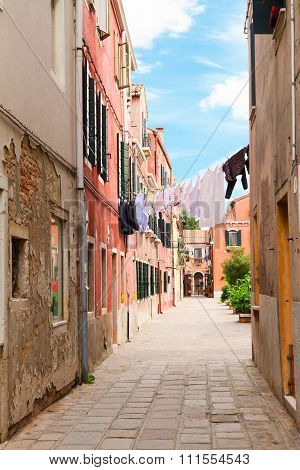 Old town of Murano, Italy