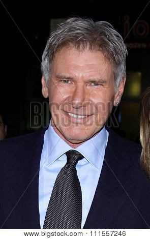 Harrison Ford at the Los Angeles premiere of 'Extraordinary Measures' held at the Grauman's Chinese Theater in Hollywood, USA on January 19, 2010.