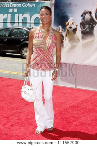 Eva LaRue at the World premiere of 'G-Force' held at the El Capitan Theater in Hollywood, USA on July 19, 2009.