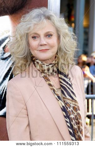 UNITED STATES, HOLLYWOOD, APRIL 16, 2012: Blythe Danner at the Los Angeles premiere of 'The Lucky One' held at the Grauman's Chinese Theater in Hollywood, USA on April 16, 2012.